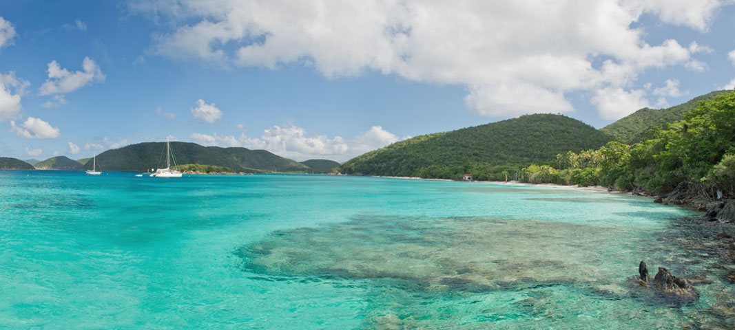 Cinnamon Bay Beach, St John US Virgin Islands National Park