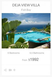 Deja View Villa St John vacation rental