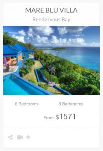 Mare Blue Villa St John vacation rental
