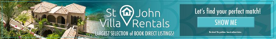 St John Villa Rentals banner