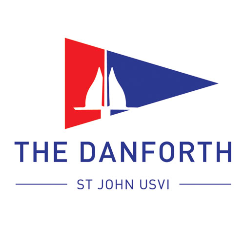 The Danforth Restaurant, Isola Shoppes, Coral Bay, St John logo